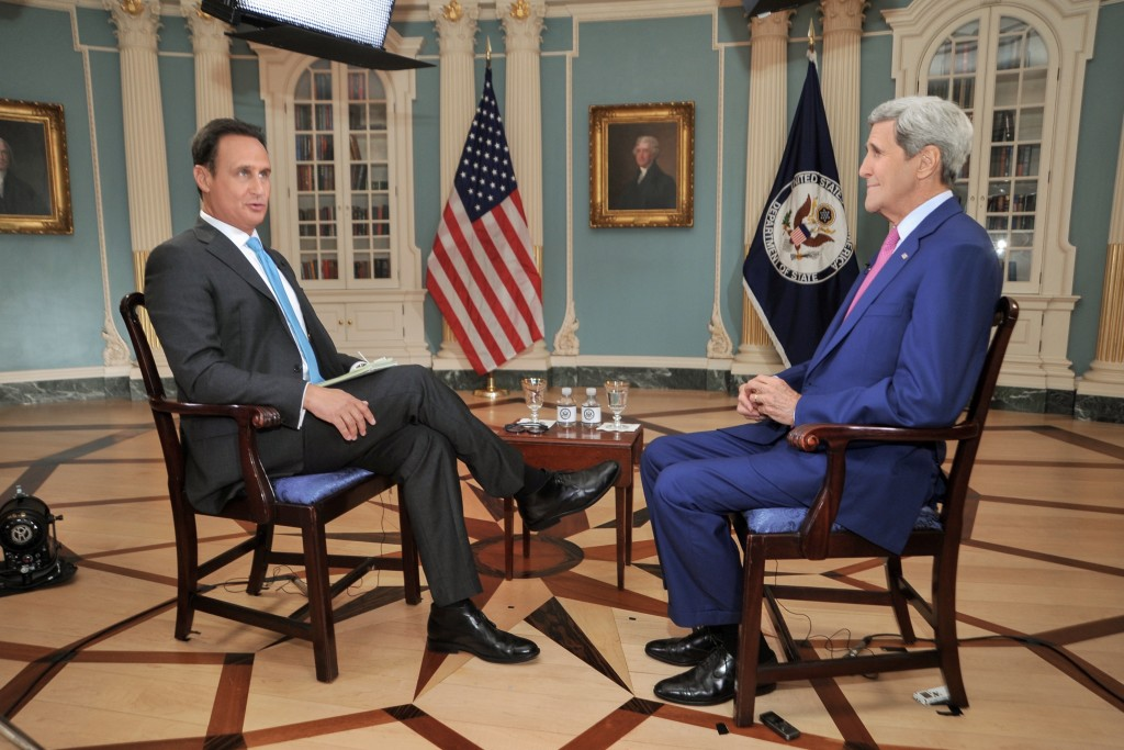 Secretary_Kerry_Speaks_About_Embassy_Havana_Opening,_Cuba_Policy_With_Telemundo's_Diaz-Balart_(20522225405)