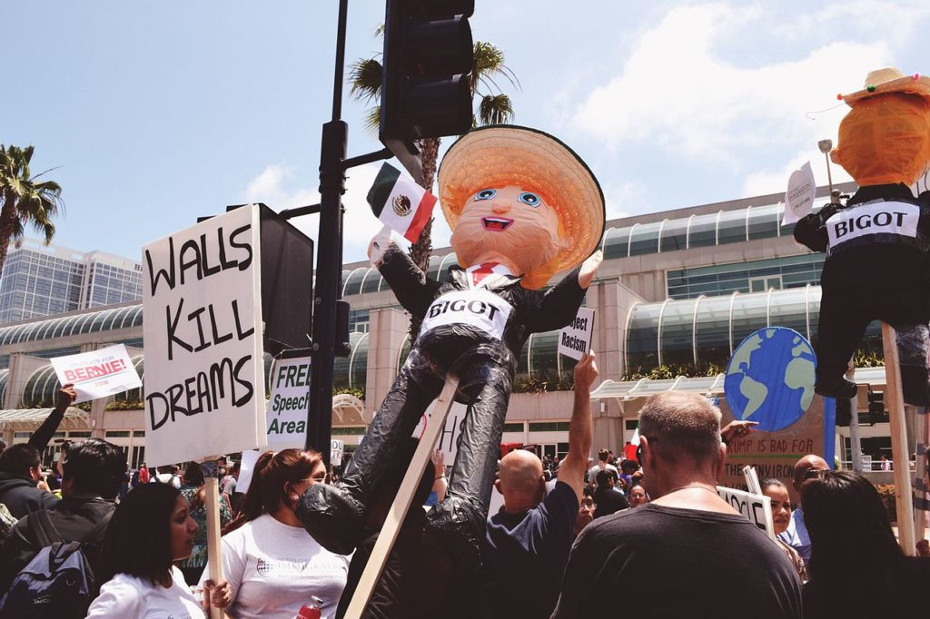 Trump_protest_San_Diego_-_May_26,_2016